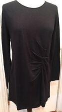 Marina Rinaldi DANZI Heather Blue Silk & Cashmere Long Sweater NWT $395 size M