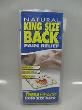 NATURAL KING SIZE PAIN RELIEF THERA BEAD MICROWAVABLE MOIST HEAT BACK