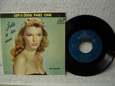 Julie London 45 PS EP Julie Is Her Name Rare 1956 Part One Orig! LEP-1-3006