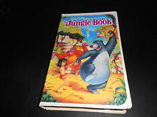 RARE (THE JUNGLE BOOK) VHS WALT DISNEY'S BLACK DIAMOND ORIGINAL TAPE.