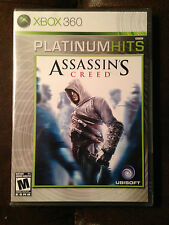 BRAND NEW SEALED Assassin's Creed (Microsoft Xbox 360, 2007) Platinum Hits