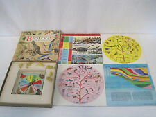 Rare 1961 Golden Game of Biology Childrens Educational Game (OA1221)