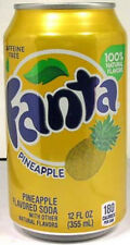 FULL NEW 12oz American Can Coca-Cola Fanta Pineapple Limited Production USA 2011