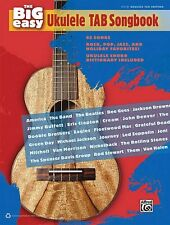 The Big Easy Ukulele Tab Songbook Sheet Music The Big Easy Songbook Se 000322383