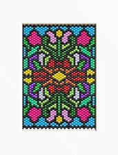 Floral Frenzy~Beaded Banner Pattern