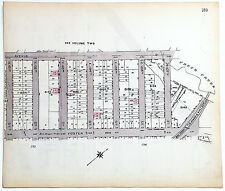 Original 1922 Maps of Canarsie Brooklyn - Ave D & Foster at E101 to E107th St,
