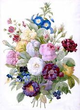Bouquet Of Flowers~counted cross stitch pattern #896~Flower Floral Garden Chart