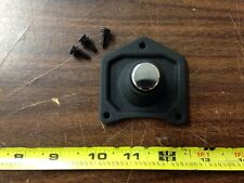 BLACK SOLENOID COVER STARTER BUTTON FOR HARLEY XL SPORTSTER & BIG TWIN 1991-UP