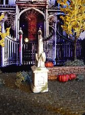 Halloween TOMBSTONE ~ Steeple Style ~GRAVE, cemetary Headstone, Dept 56, Lemax
