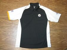"Reebok Play Dry NFL Pittsburgh Steelers Short Sleeve Shirt Men S ""NWOT"""