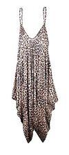 Ladies Cami Lagenlook Romper Baggy Harem Playsuit Women Jumpsuit Dress Plus Size