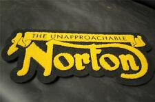 **New** Super Size Jacket Patch**Black and Gold   Norton    Free Shipping!
