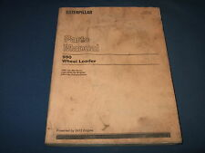 CAT CATERPILLAR 990 WHEEL LOADER PARTS BOOK MANUAL S/N 7HK1-UP