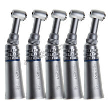 5 Dentista Dental Low Speed Contra Angle Handpiece Push Button Contrangolo NSK