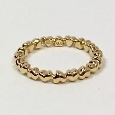 Authentic Pandora 14K Gold Forever Love Ring, 150160-57 Sz 8  New