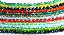 LOT of 300 Czech Firepolish Beads Faceted Round 8mm