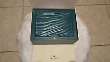 New Rolex large green wave watch box 39141.02