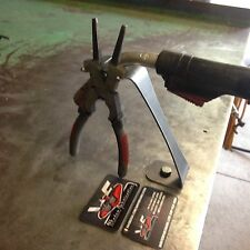 MIG Torch Stand w/ Built In Welding Pliers Holder - Welding Welder Custom Shop