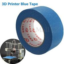 50Mx50MM 3D Imprimante Ruban Bleu Bande Protection Lit Reprap Painters Masquage