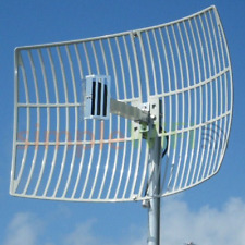 21 dBi Directional Parabolic WiFi Grid 2.4GHz Outdoor Rated Long Range Antenna