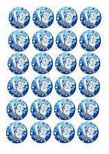 24 Edible cake toppers decorations Boys Blue Male 18th