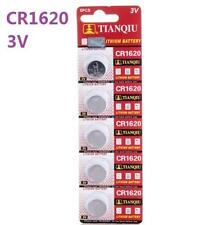 3V CR1620 DL1620 ECR1620 3 Volt Button Coin Cell Battery for CMOS watch toy x5 *