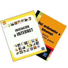 """Pack Manual impreso """"Iniciación a Internet"""" + """"Del ordenador a Internet"""""""