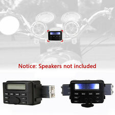 Motorcycle Audio Radio FM MP3 Stereo Sound System Waterproof For Harley Cruisers