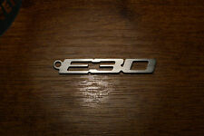 BMW E30 stainless steel keychain keyring