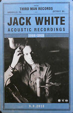 JACK WHITE, ACOUSTIC RECORDINGS POSTER (K4)
