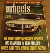 1971.WHEELS.FALCON GT.240Z.FIAT 124.E-Type Jag.Corniche.Datsun 1600.350 SL.