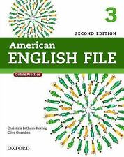 American English File Second Edition 3 Student Book Pack: With Online Practice,