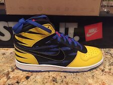 "NIKE BIG HIGH QK SIZE 10 ""WOLVERINE"" X MEN DUNK DS OG QS 370428 701"