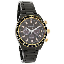 New Citizen Mens Sport Chronograph Eco-Drive Watch CA4207-53H