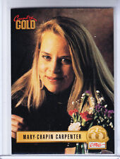 1993 Sterling Country Gold Card # 86 Mary Chapin Carpenter