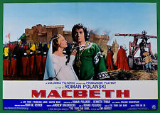 T63 FOTOBUSTA THE TRAGEDY OF MACBETH ROMAN POLANSKI WILLIAM SHAKESPEARE FINCH 1