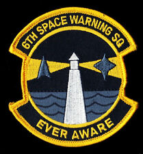 USAF 6TH SWS SPACE WARNING SQ PAVE PAWS RADAR THREAT & SATELLITE TRACKING PATCH