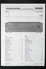GRUNDIG V 304 Original Amplifier/Verstärker Service-Manual/Schaltplan/Diagram