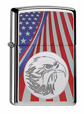 Zippo® Eagle and Flag-Adler und US Flagge- Stars and Stripes- New / Neu OVP