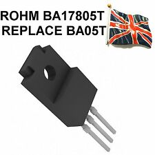 BA05T BA17805T GENUINE ROHM 5V LOW SATURATION REGULATOR TO-220FP NEW UK STOCK