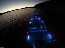 LED Interior Lighting Kit - 6pc BLUE - Boat, Pontoon, Night Fishing