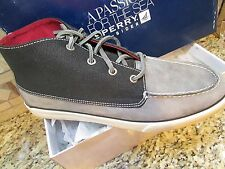 NEW SPERRY TOP-SIDER BAHAMA LUG CHUKKA SHOES BOOTS SHOE BOOTS MENS 10.5 GRAY