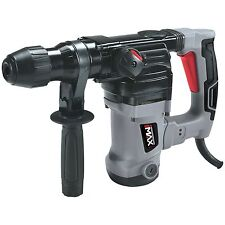 Hilka MAX Tools 1250w Rotary Hammer Drill SDS+ Anti Vibration & Safety Clutch