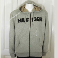 TOMMY HILFIGER NEW MENS HOODIE JACKET SHERPA LINED WARM & COZY NWT RETAIL$119.99