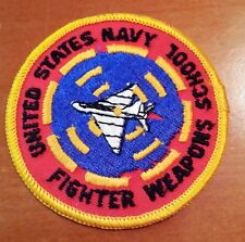 """Awesome 3"""" USN Navy Patch Fighter Weapons School"""