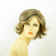 short wig women light blond light copper wick and chocolate ref MARION 15613H4