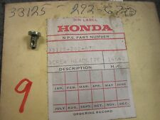 NOS HONDA CB175 CB200 CB350 CB450 CB500 CB550 CB750 CL350 CL450 HEADLIGHT SCREW