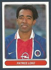 PANINI EUROPEAN FOOTBALL STARS 1997- #106-PARIS ST GERMAIN & FRANCE-PATRICE LOKO