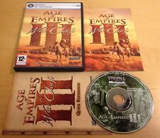AGE OF EMPIRES III 3 THE WAR CHIEFS EXPANSION PACK for PC COMPLETE