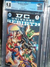DC Universe Rebirth #1 Midnight release variant CGC 9.8 1st Pint Justice League